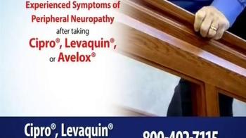 Thomas Law Offices TV Spot, 'Cipro, Levaquin & Avelox Warning' - Thumbnail 7