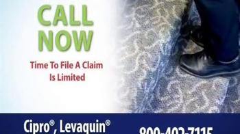 Thomas Law Offices TV Spot, 'Cipro, Levaquin & Avelox Warning' - Thumbnail 8