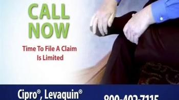 Thomas Law Offices TV Spot, 'Cipro, Levaquin & Avelox Warning' - Thumbnail 9