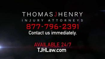 Thomas J. Henry Injury Attorneys TV Spot, 'Vehicle Accidents' - Thumbnail 8