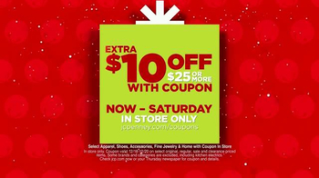JC Penney Holiday Huge Sale TV Spot, 'Big Holiday Savings' - Thumbnail 2