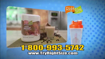 Right Size Health & Nutrition TV Spot, 'Quick 6' - Thumbnail 10