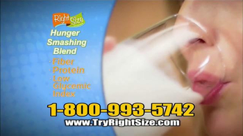 Right Size Health & Nutrition TV Spot, 'Quick 6' - Thumbnail 7