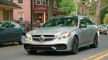 2015 Mercedes-Benz E63 AMG S 4MATIC Wagon TV Spot, 'A Long Drive' - Thumbnail 1