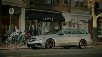 2015 Mercedes-Benz E63 AMG S 4MATIC Wagon TV Spot, 'A Long Drive' - Thumbnail 9