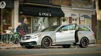 2015 Mercedes-Benz E63 AMG S 4MATIC Wagon TV Spot, 'A Long Drive' - Thumbnail 8
