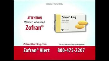 Curtis Law Group TV Spot, 'Zofran Warning' - Thumbnail 2