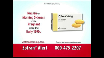 Curtis Law Group TV Spot, 'Zofran Warning' - Thumbnail 3