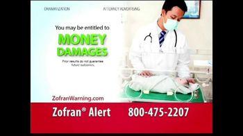 Curtis Law Group TV Spot, \'Zofran Warning\'