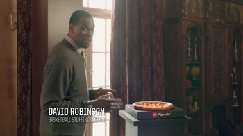Pizza Hut Stuffed Crust Throwback Deal TV Spot, 'Crust First' - Thumbnail 3
