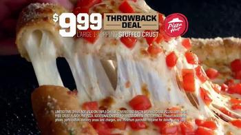 Pizza Hut Stuffed Crust Throwback Deal TV Spot, 'Crust First' - Thumbnail 6