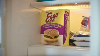 EGGO Breakfast Sandwiches TV Spot, 'Broken Toaster' - Thumbnail 3