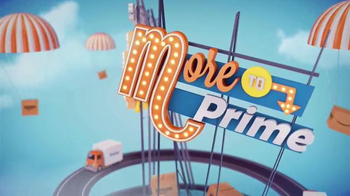 Amazon Prime TV Spot, \'Movies, Music and More\'