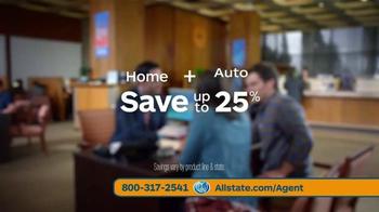 Allstate TV Spot, 'Money Matters' Featuring Dennis Haysbert - Thumbnail 9