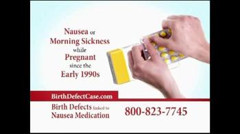 Wexler Wallace LLP TV Spot, 'Nausea Medication Alert'