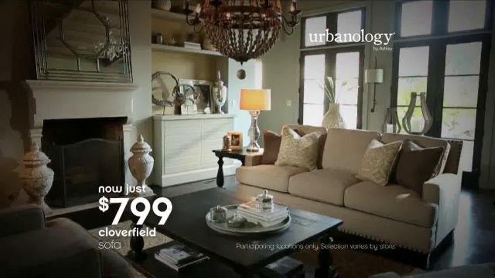 Bon Ashley Furniture Homestore 70th Anniversary Event TV Commercial,  U0027Urbanologyu0027   ISpot.tv