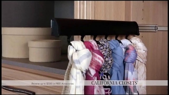 California Closets Spring Accessories Savings Event TV Spot, 'Great Styles' - Thumbnail 5
