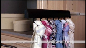 California Closets Spring Accessories Savings Event TV Spot, 'Great Styles' - Thumbnail 6