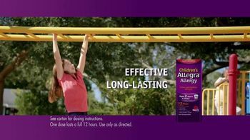 Allegra TV Spot, 'Amy's Allergies'