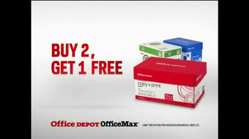 Office Depot Buy Two, Get One Free TV Spot, 'Gearcentric' - Thumbnail 3