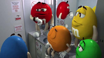 M&M's TV Spot, 'Airplane'