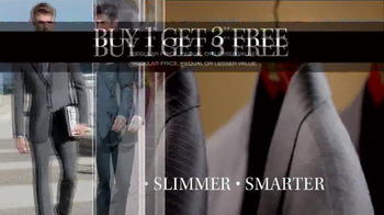 JoS. A. Bank Buy One Get Three Free TV Spot, 'All Suits Included' - Thumbnail 4