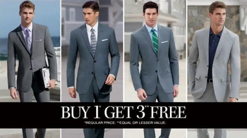 JoS. A. Bank Buy One Get Three Free TV Spot, 'All Suits Included' - Thumbnail 5