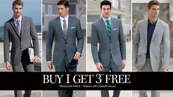 JoS. A. Bank Buy One Get Three Free TV Spot, 'All Suits Included' - Thumbnail 6