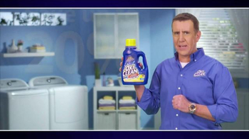OxiClean Laundry Detergent TV Spot, 'Live from the Washer' - Thumbnail 10