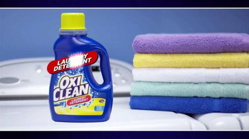 OxiClean Laundry Detergent TV Spot, 'Live from the Washer' - Thumbnail 4