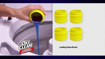 OxiClean Laundry Detergent TV Spot, 'Live from the Washer' - Thumbnail 5