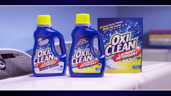 OxiClean Laundry Detergent TV Spot, 'Live from the Washer' - Thumbnail 9