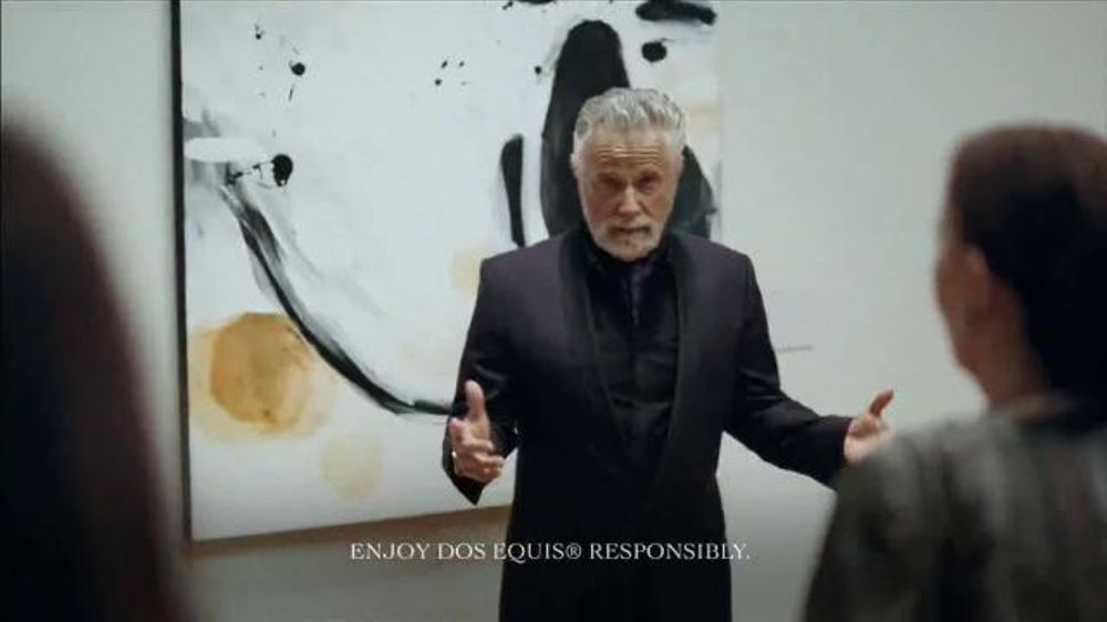 Dos equis tv commercial 39 the most interesting man in the for Dos equis t shirt urban outfitters