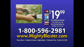 Mighty Blaster Fireman's Nozzle TV Spot, 'Power and Precision' - Thumbnail 9