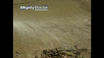 Mighty Blaster Fireman's Nozzle TV Spot, 'Power and Precision' - Thumbnail 3