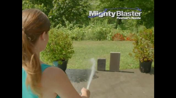 Mighty Blaster Fireman's Nozzle TV Spot, 'Power and Precision' - Thumbnail 4