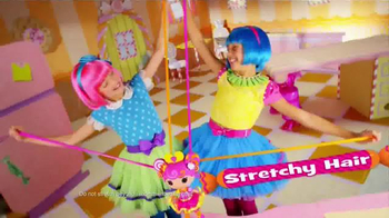 Lalaloopsy Stretchy Hair TV Spot, 'Stretch It Out to There'