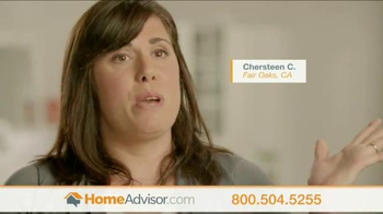 HomeAdvisor TV Spot, \'Customer Testimonials 2\'