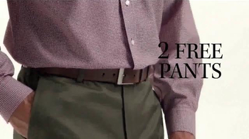 JoS. A. Bank Buy One Get One Free TV Spot, 'Two Free Pants' - Thumbnail 7