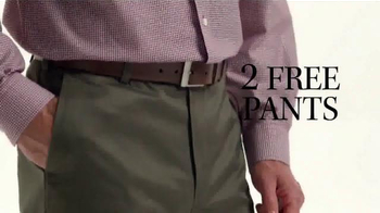 JoS. A. Bank Buy One Get One Free TV Spot, 'Two Free Pants' - Thumbnail 8