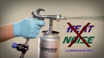 LizardSkin Spray-On Insulation TV Spot, 'Fight Noise and Heat'