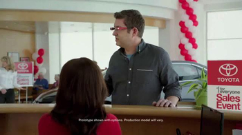 Toyota One for Everyone Sales Event TV Spot, 'Closer Look'