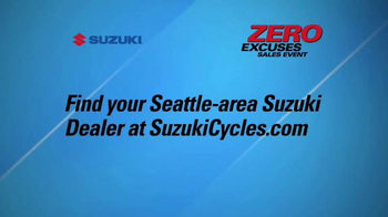 Suzuki Zero Excuses Sales Event TV Spot, 'Your Next Adventure' - Thumbnail 8