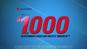 Suzuki Zero Excuses Sales Event TV Spot, 'Your Next Adventure' - Thumbnail 4