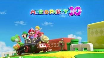 Mario Party 10 TV Spot, 'Throw a Party' - Thumbnail 1