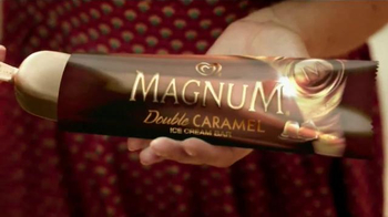 Magnum Double Caramel TV Spot, 'Celebrating 25 Years of MAGNUM Pleasure' - Thumbnail 4