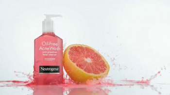 Neutrogena Oil-Free Acne Wash TV Spot., 'Clearer Skin' Feat. Eiza Gonzalez