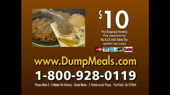 Dump Meals TV Spot, 'Five Minute Meals' - Thumbnail 10