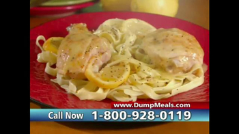 Dump Meals TV Spot, 'Five Minute Meals' - Thumbnail 9
