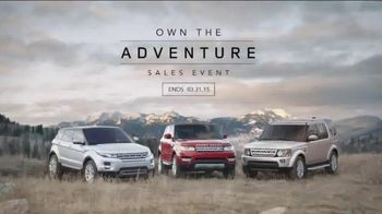 Range Rover Evoque TV Spot, 'Own the Adventure Sales Event'
